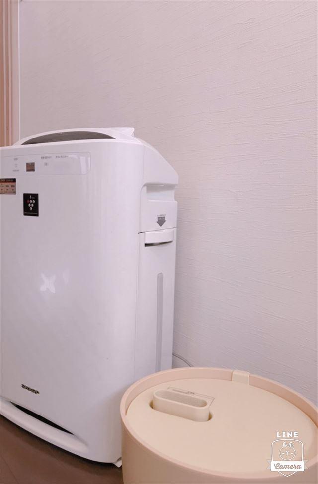 加湿器空気清浄機